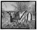 Ice house. View to east. - Benjamin and Miranda Shreve Homestead, Ice House, North of County Road 25, Decker, Big Horn County, MT HABS MT-106-B-1.tif