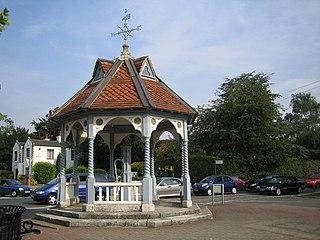 Ickenham Human settlement in England