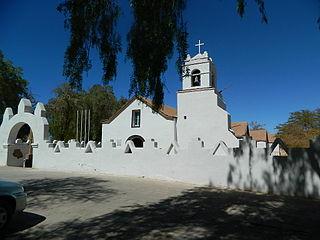Church of San Pedro de Atacama national monument of Chile
