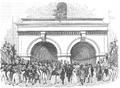 Illustrirte Zeitung (1843) 01 006 2 Tunneleingang an der Flußseite von Rotherhithe.PNG