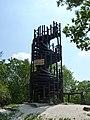 Imre Makovecz observation tower, Kis-Hárs Hill 02.JPG
