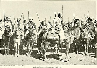 Qaid - A clan of mountaineers and their qaid (In Morocco (1920) by Edith Wharton)