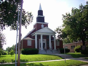 Church of Jesus Christ (Zion's Branch) - Zion's Branch meetinghouse in Independence, Missouri