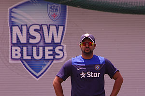 Suresh Raina - Raina at the SCG in January 2015.
