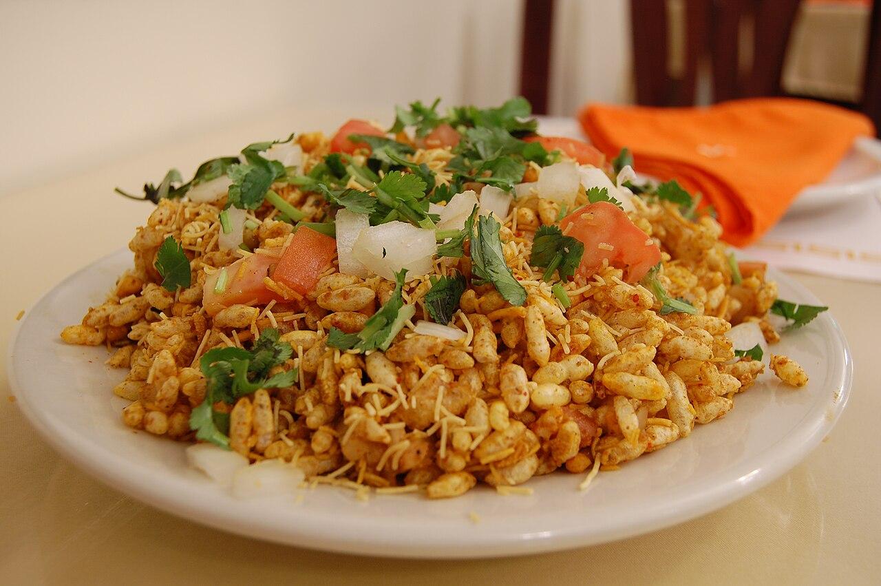 File indian cuisine chaat bhelpuri wikimedia commons for Cuisine 2000