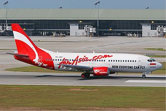 Indonesia AirAsia - An Indonesia AirAsia's Boeing 737-300