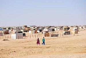 Flexible Land Tenure System (Namibia) - Image: Informal settlement in Namibia 2