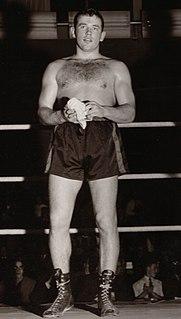 Ingemar Johansson Swedish boxer