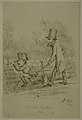 "Ink Drawing ""The Little Napoleon"" by David H. Strother.jpg"