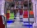 Intérieur Train Francilien Gare Haussmann St Lazare Paris 2.jpg