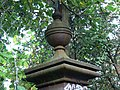 Intact finial, gatepost, Hawksworth, Swindon - geograph.org.uk - 986046.jpg