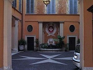 Palazzo Malta - Courtyard of Palazzo di Malta