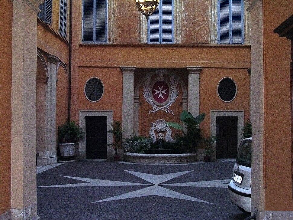Interior Palazzo di Malta (Roma)