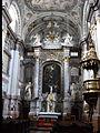 Interior church in Bratislava.JPG