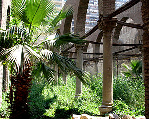 Mosque of al-Zahir Baybars - A look at the interior of al-Zahir Baybars's mosque as it is today