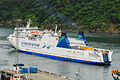 Interislander MEV Aratere prior to lengthening, side-back view 20100122 4.jpg