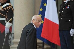 Nabil Elaraby - Elaraby in International Conference in Support of the New Libya, Paris, 1 September 2011