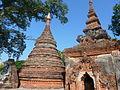 Inwa -- Yadana Hsimi Pagodas, close-up.JPG