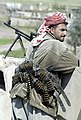 Iraqi Kurdish peshmerga fighter in the Kurdistan Democratic Party (KDP) in 2003.jpg