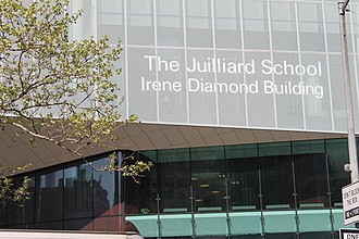 Irene Diamond - Irene Diamond Building at the Juilliard School