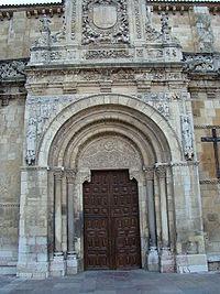 Bas lica de san isidoro de le n wikipedia la for Puerta 3 de san marcos