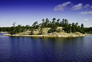 Island in Muskoka, Canada