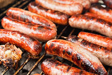 Italian sausage on the grill.jpg