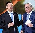 Jüri Ratas ja Jean-Claude Juncker Tallinnas 2017.jpg
