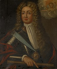 George, Prince of Denmark (1653-1708) and Consort of Queen Anne of England(1665-1714)