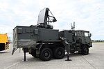 JASDF Type 81 SAM(Fire Control System, 46-7926) right rear view at Komatsu Air Base September 17, 2018.jpg
