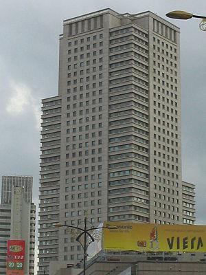 Johor Bahru City Square - Johor Bahru City Square office tower from Jalan Tun Abdul Razak