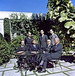 JFK - Meeting with Arturo Frondizi, President of Argentina, in Palm Beach 01.jpg