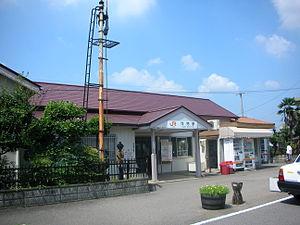 Kani Station - Kani Station in October 2008