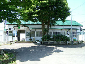 Shimōsa-Manzaki Station - Shimōsa-Manzaki Station