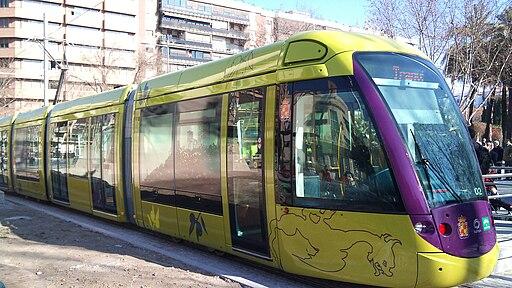 Jaén - Tranvía en Las Batallas