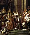 Jacques-Louis David- Consecration of the Emperor Napoleon I and Coronation of the Empress Josephine - detail.JPG