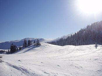 Планина Јахорина зими