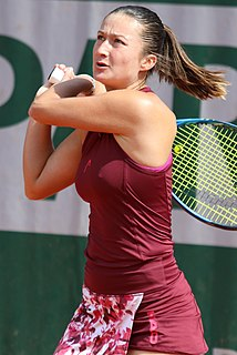 Dalila Jakupović Slovenian female tennis player