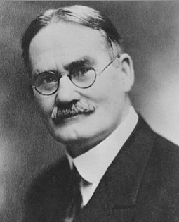 Naismith as University of Kansas athletics director, c. 1920 James Naismith at Springfield College circa 1920.jpg