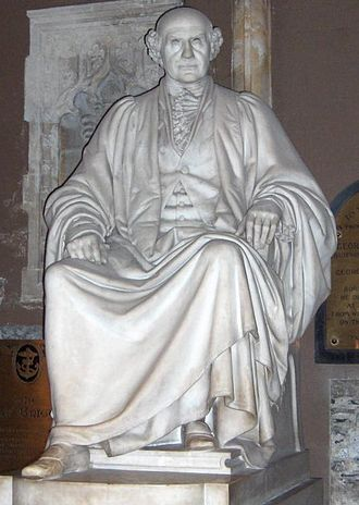 Mountjoy Square - Statue of James Whiteside in St Patrick's Cathedral, Dublin