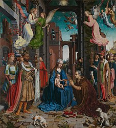 Jan Gossaert: The Adoration of the Kings