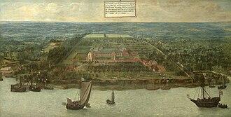 St. Bernard's Abbey, Hemiksem - St. Bernard Abbey, by Jan Wildens in 1616