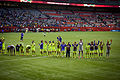 Japanese players salute FIFA Women's World Cup Canada June 12th, 2015 (18759926665).jpg
