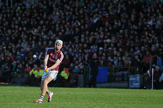 National Hurling League - Jason Flynn in action for Galway against Kilkenny in the 2015 National Hurling League