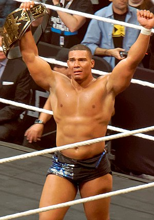 Jason Jordan - Jordan after winning the NXT Tag Team Championship at NXT TakeOver: Dallas in April 2016