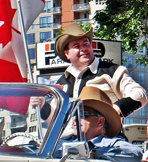 Jason Kenney - Jason Kenney in the 2010 Calgary, Alberta, Stampede Parade