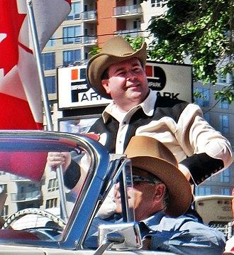 Jason Kenney - Jason Kenney in the 2010 Calgary, Alberta, Stampede Parade
