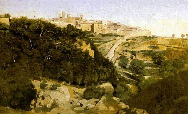 Filejean Baptiste Camille Corot Volterrajpg Wikipedia