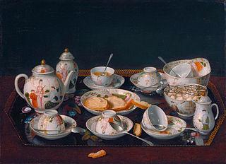 Still Life: Tea Set