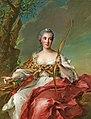 Jean-Marc Nattier - Madame Bergeret de Frouville as Diana.jpg